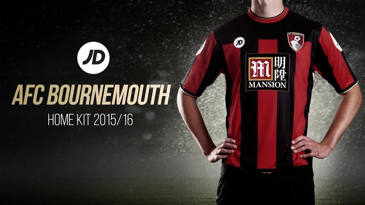 Nueva casaca del Bournemouth | Foto Web Oficial
