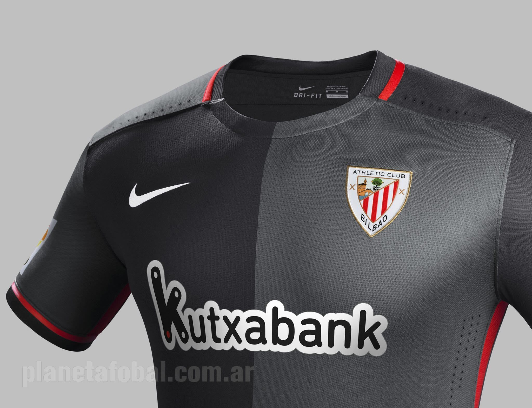 Camiseta Nike Club Suplente Del 201516 Athletic 54RjLA
