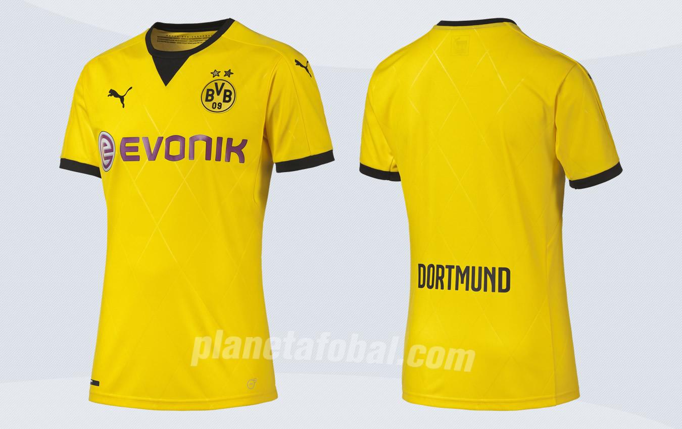Casaca europea del Borussia Dortmund | Foto Web Oficial
