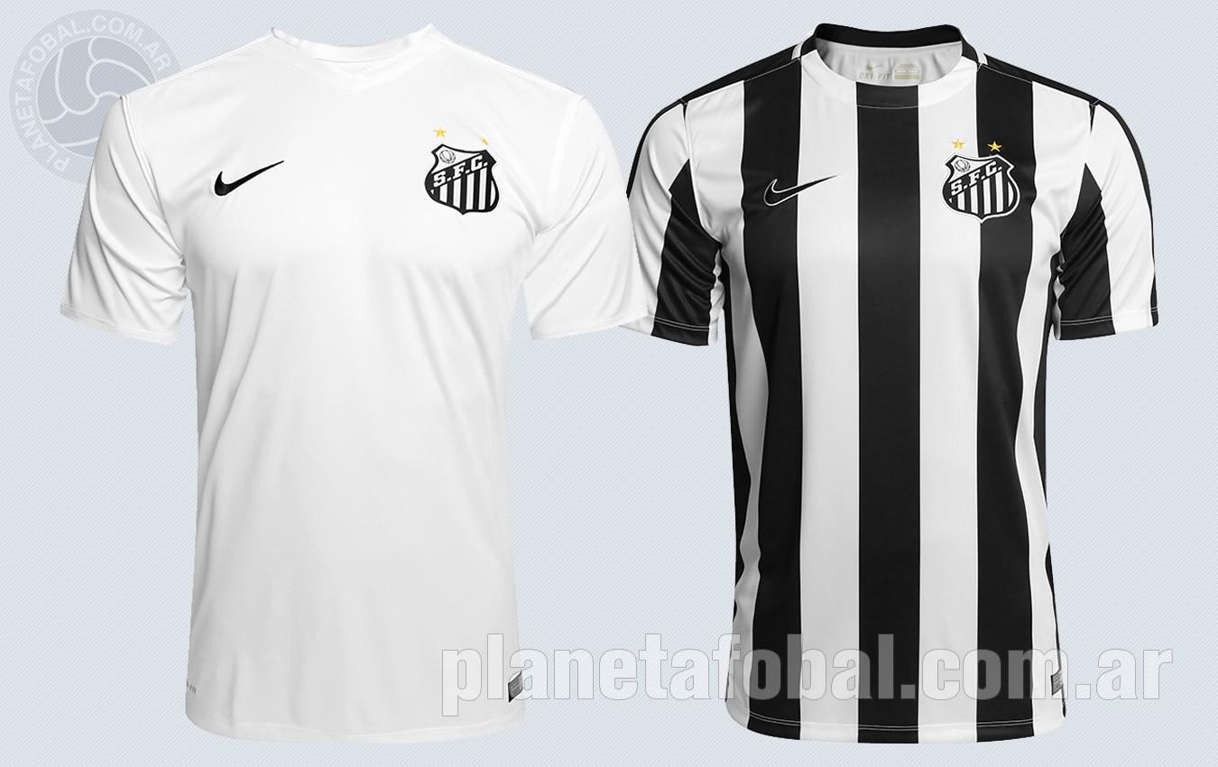 Camiseta titular y suplente del Santos | Foto Nike