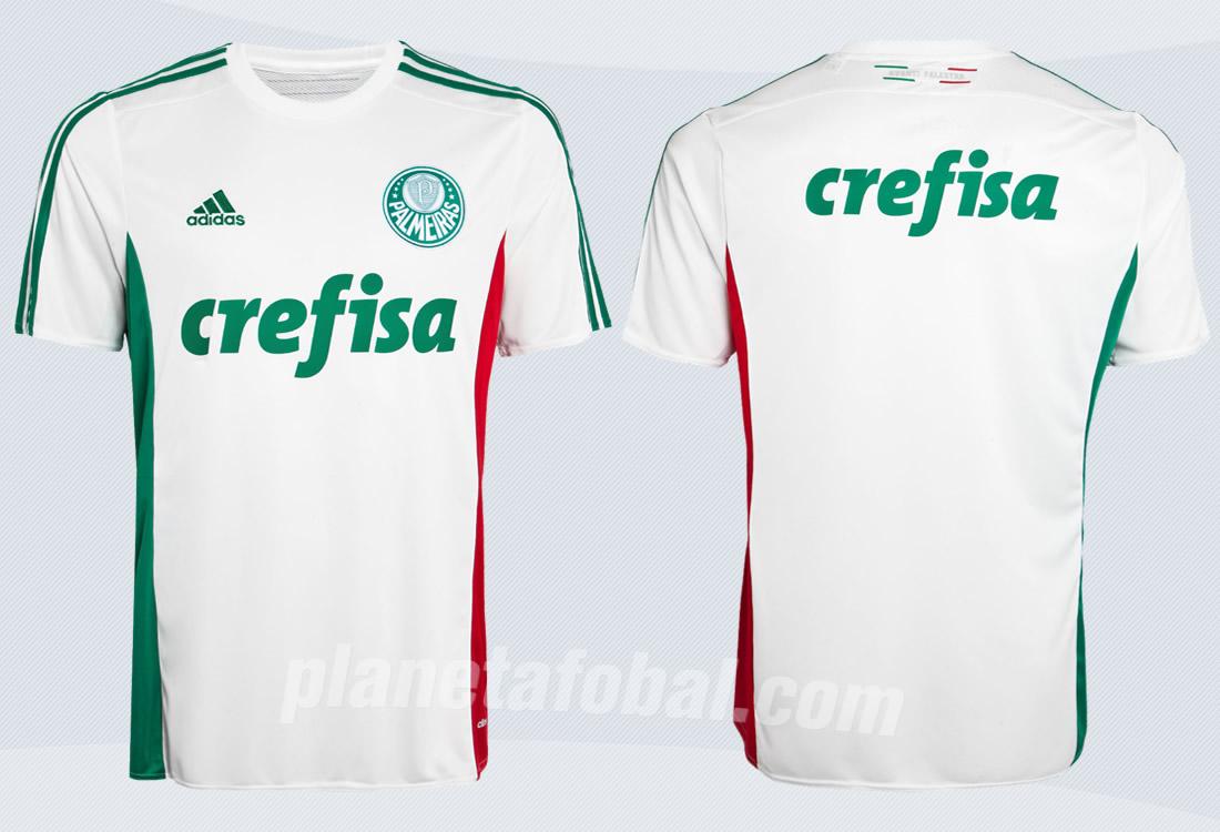 Camiseta suplente del Palmeiras para 2015/2016 | Imagenes tienda oficial