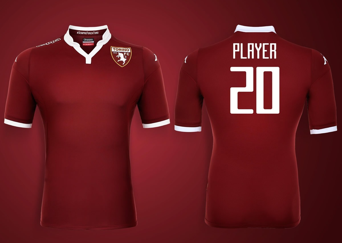 Camiseta titular Kappa del Torino | Foto web oficial