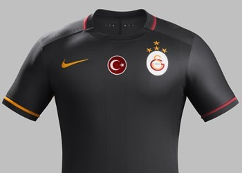 Camiseta suplente del Galatasaray para 2015/2016 | Foto Nike
