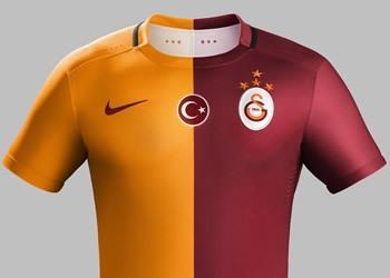Camiseta titular del Galatasaray para 2015/2016 | Foto Nike