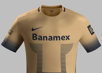 Nueva camiseta titular de Pumas | Foto Nike