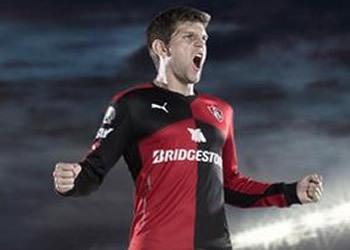Camiseta titular del Atlas para 2015/2016 | Foto Twitter Puma
