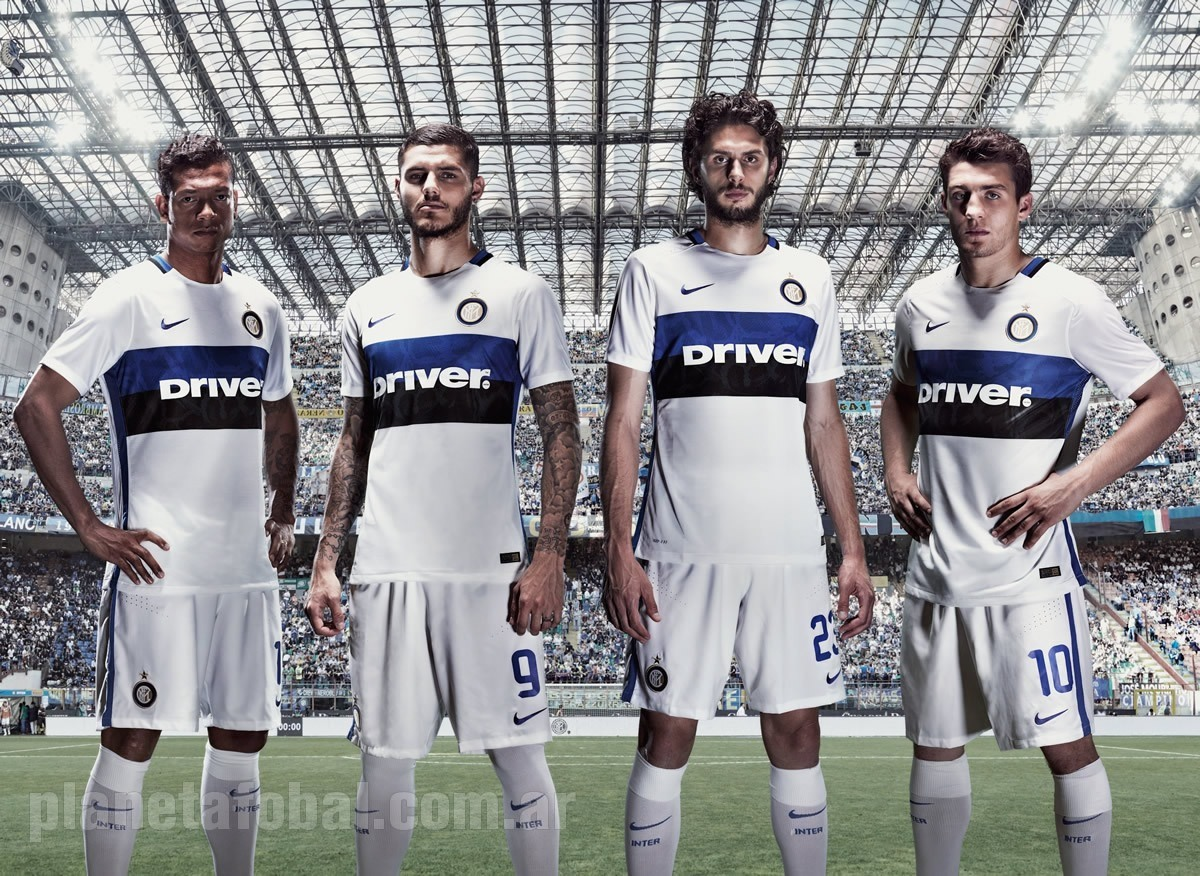 Fredy Guarín, Mauro Icardi, Andrea Ranocchia y Mateo Kovačić  con la casaca | Foto Nike