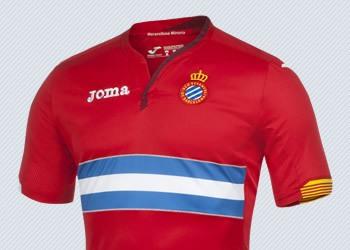 Camiseta suplente de Espanyol para 2015/2016 | Imagenes Joma