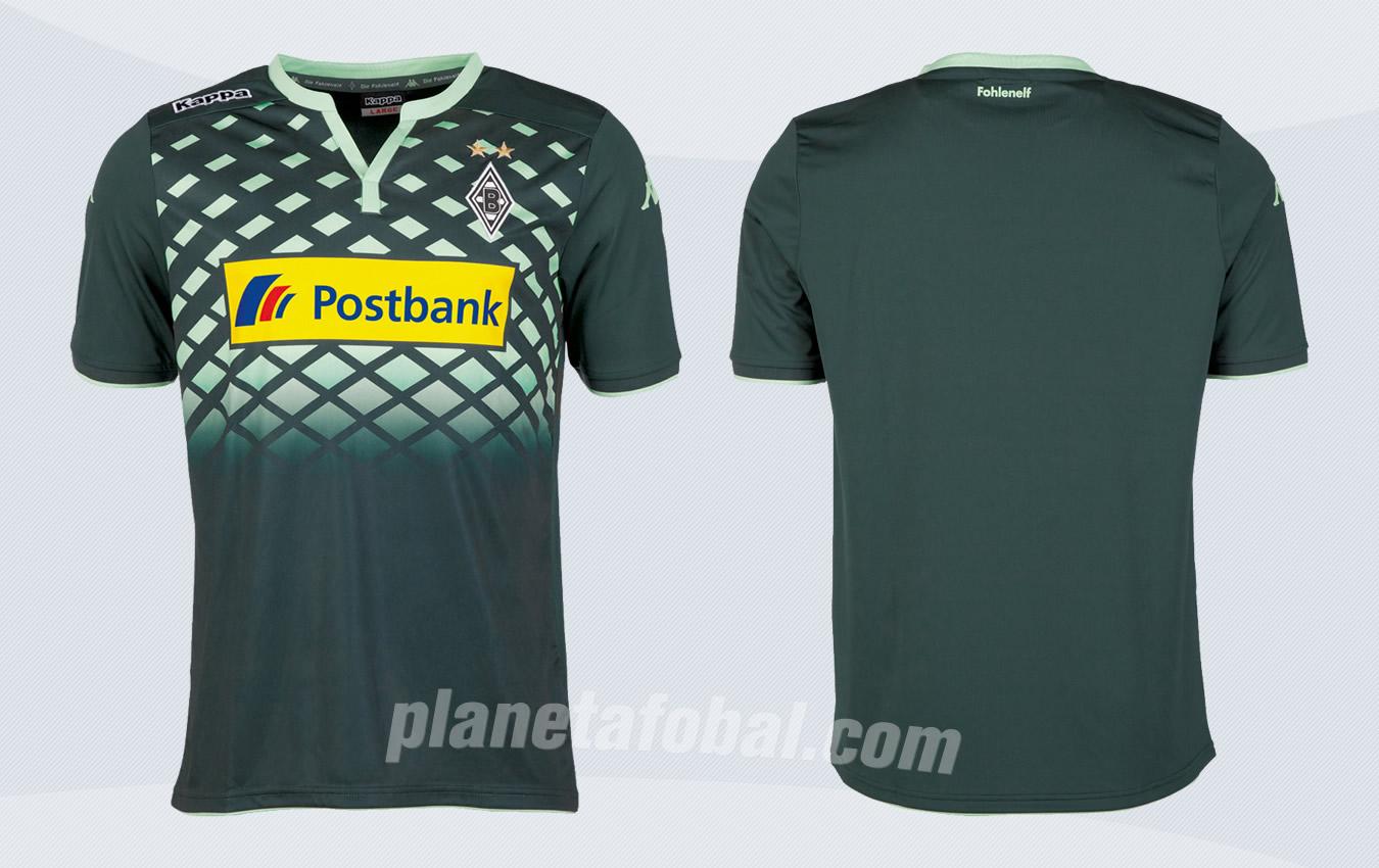 Nueva camiseta suplente del Borussia Monchengladbach | Imagenes Kappa