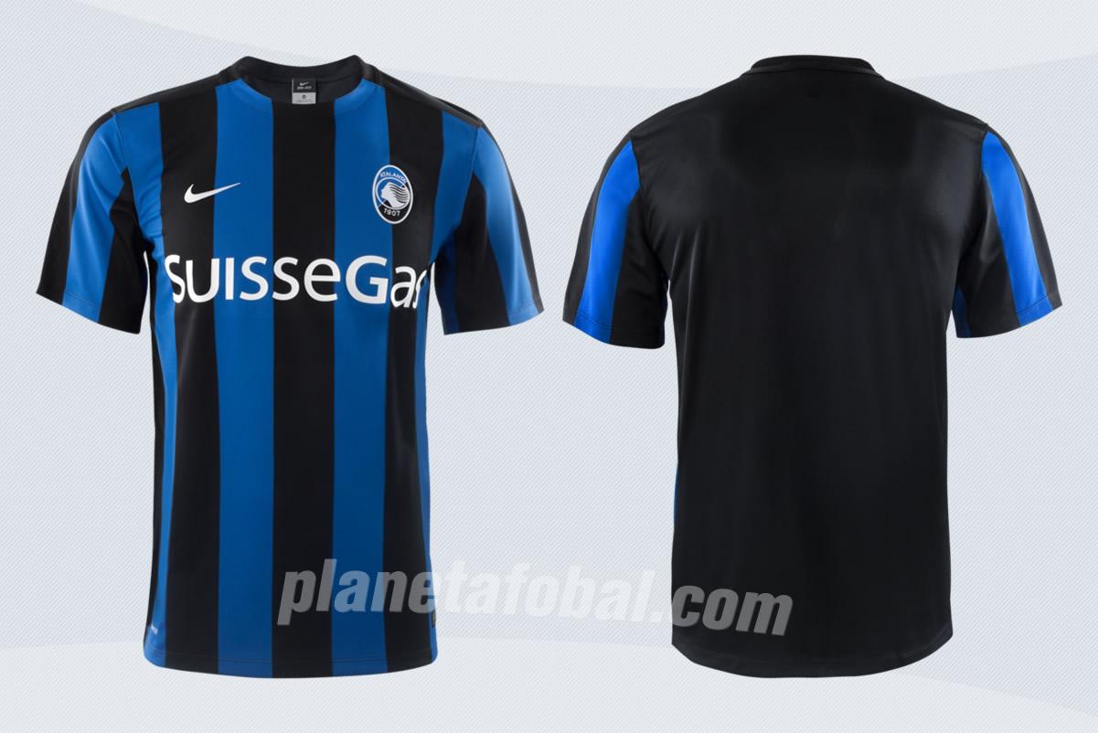 Camiseta titular del Atalanta | Foto Web Oficial