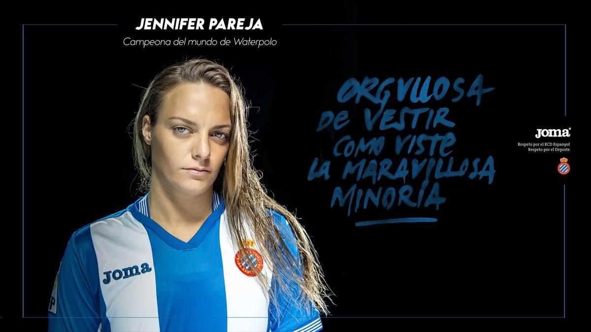 Camiseta titular de Espanyol para 2015/2016 | Imagenes Joma