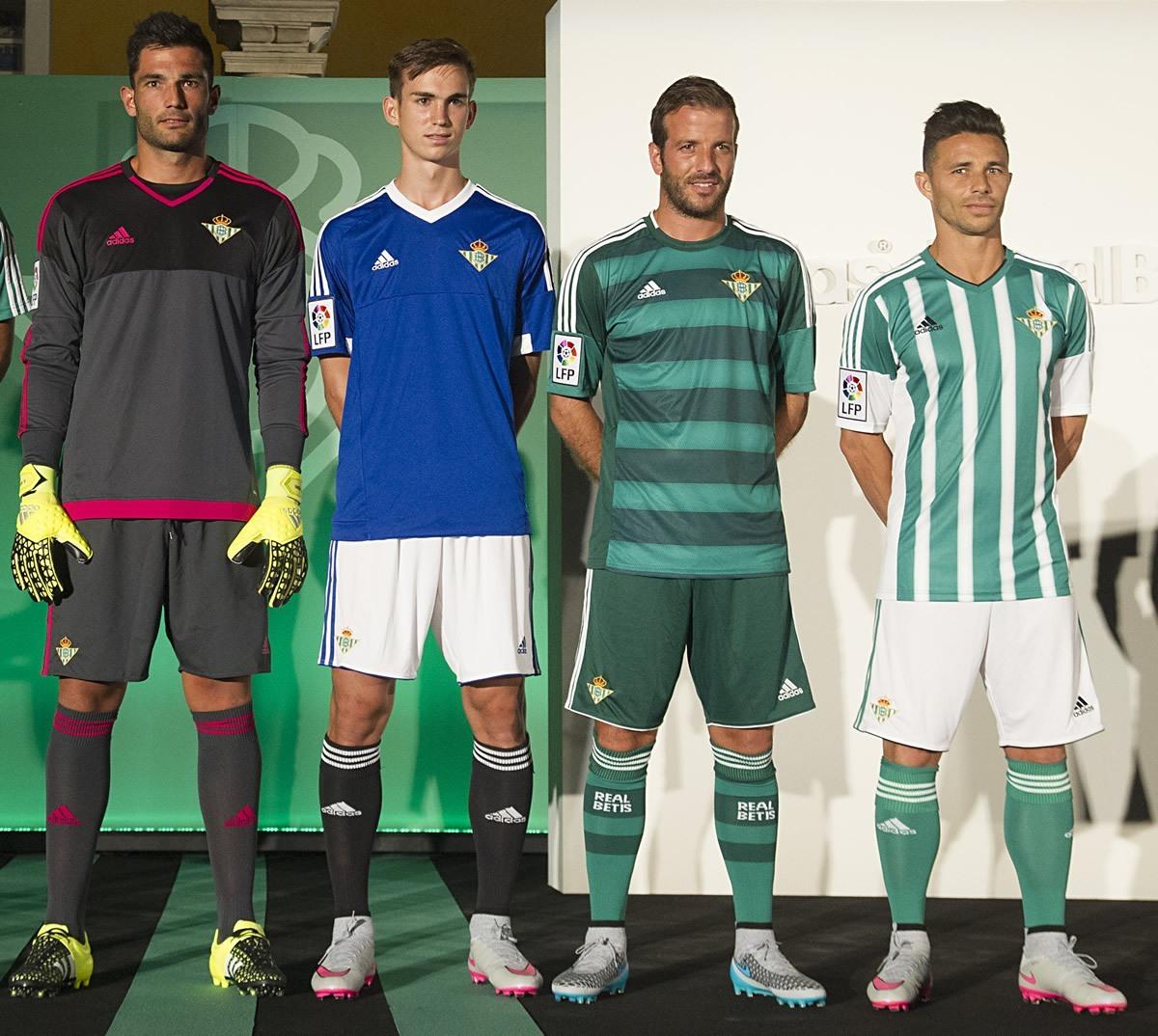 Nuevas casacas del Betis | Foto Web Oficial