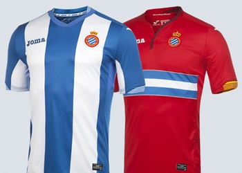 Camisetas de Espanyol para 2015/2016 | Imagenes Joma