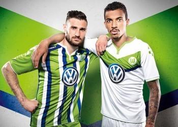 Las dos casacas principales del Wolfsburg | Foto Web Oficial
