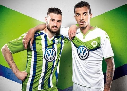 Las dos casacas principales del Wolfsburg   Foto Web Oficial