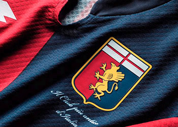 Genoa presentó sus nuevas camisetas para 2015/2016 | Foto web oficial
