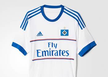 Casaca titular del Hamburgo | Imagen Adidas