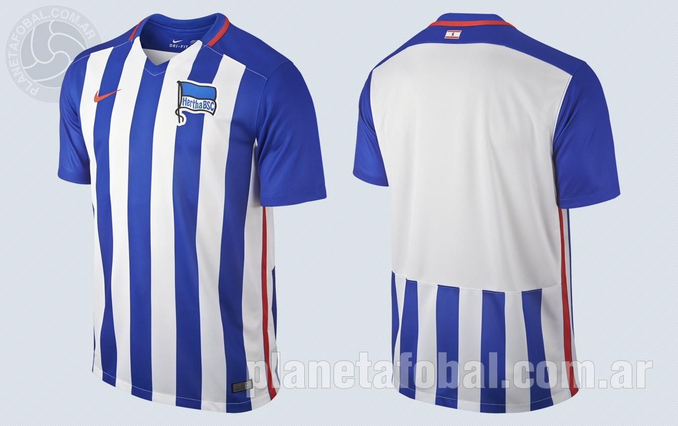 Casaca titular del Hertha | Imágenes Nike