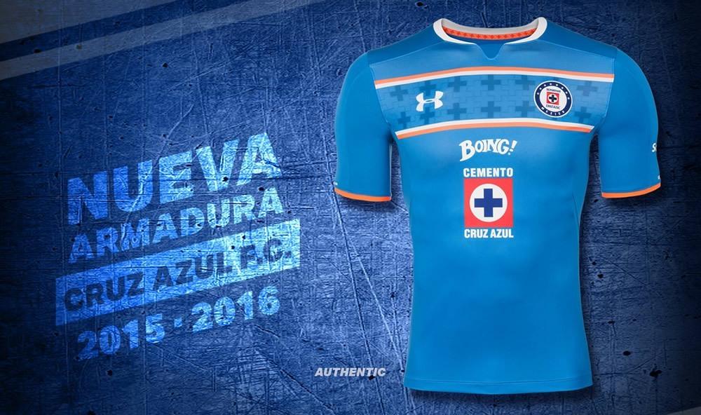 Casaca titular del Cruz Azul | Foto Under Armour