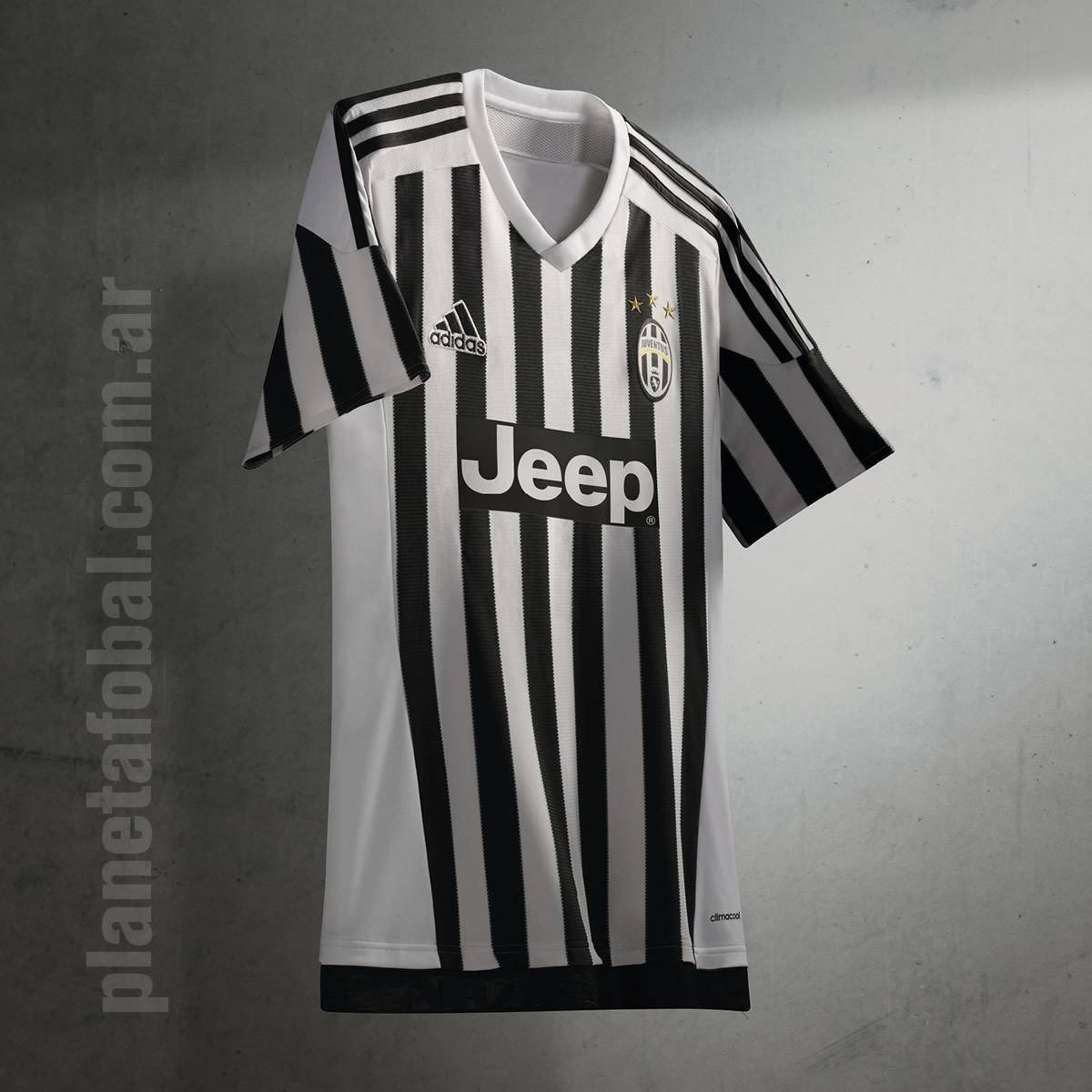 Camiseta titular de la Juventus | Foto Adidas