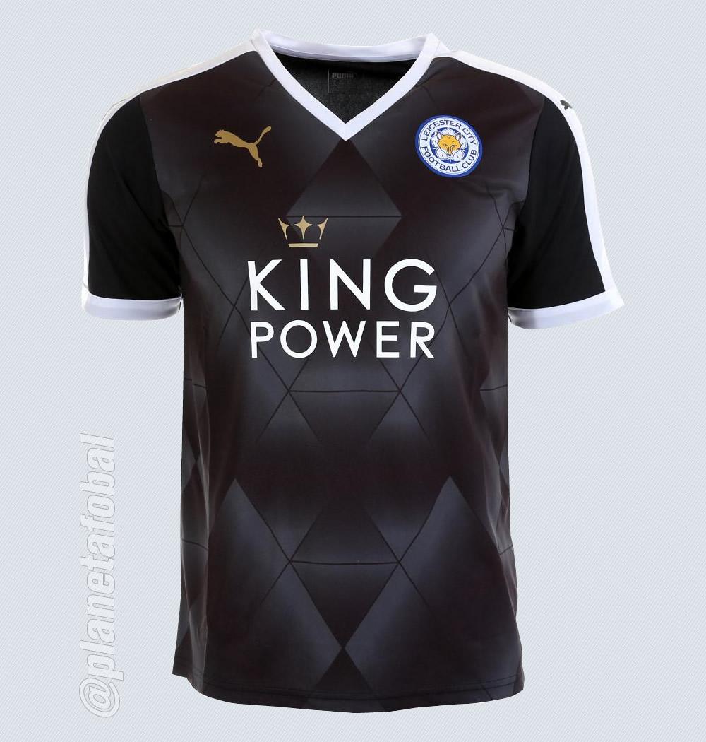 Nueva camiseta suplente del Leicester City para 2015/2016 | Foto web oficial