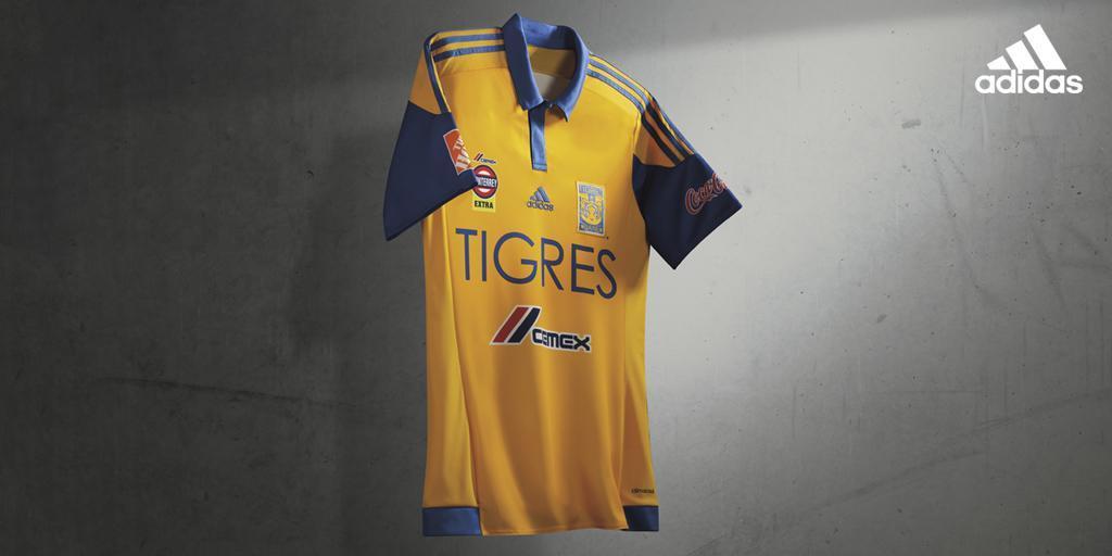 Casaca titular de los Tigres | Foto Adidas
