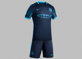 Casaca suplente del Manchester City | Foto Nike