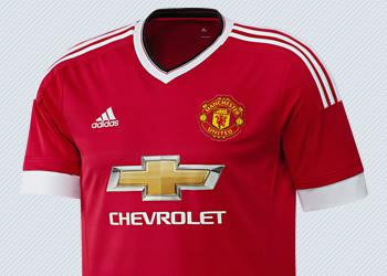 Camiseta titular del Manchester United | Imágenes Adidas