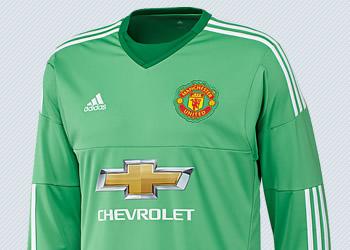 Camiseta titular del Manchester United (Arquero) | Imágenes Adidas