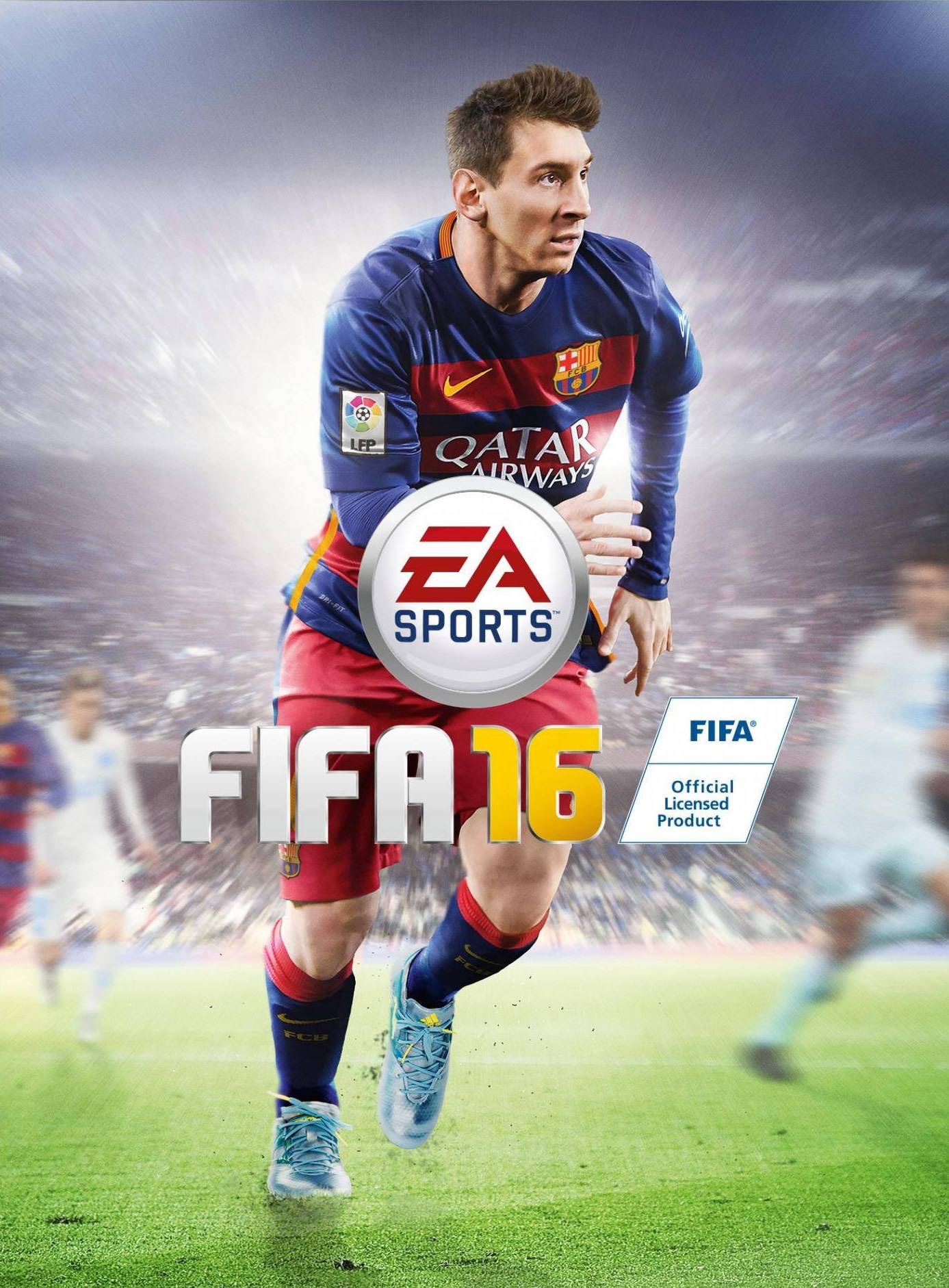 Messi en la portada global del FIFA 16 | Foto EA