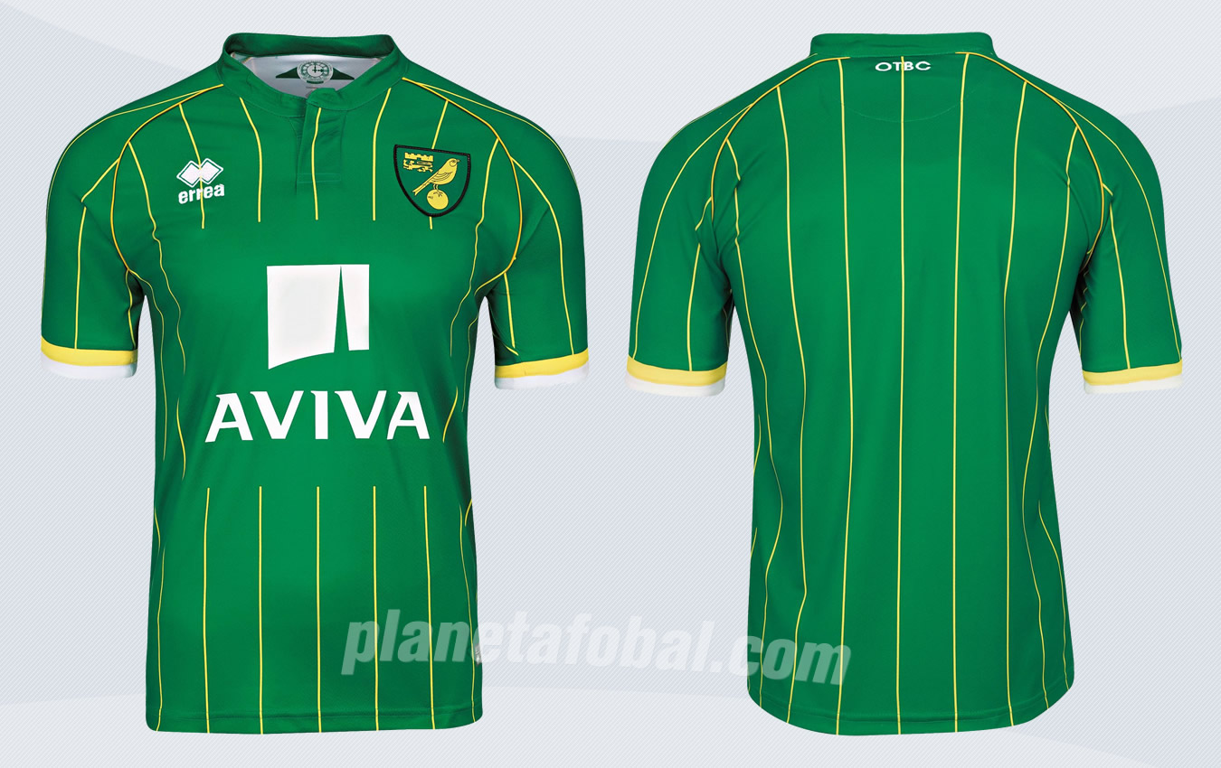 Nueva casaca del Norwich | Imágenes Web Oficial