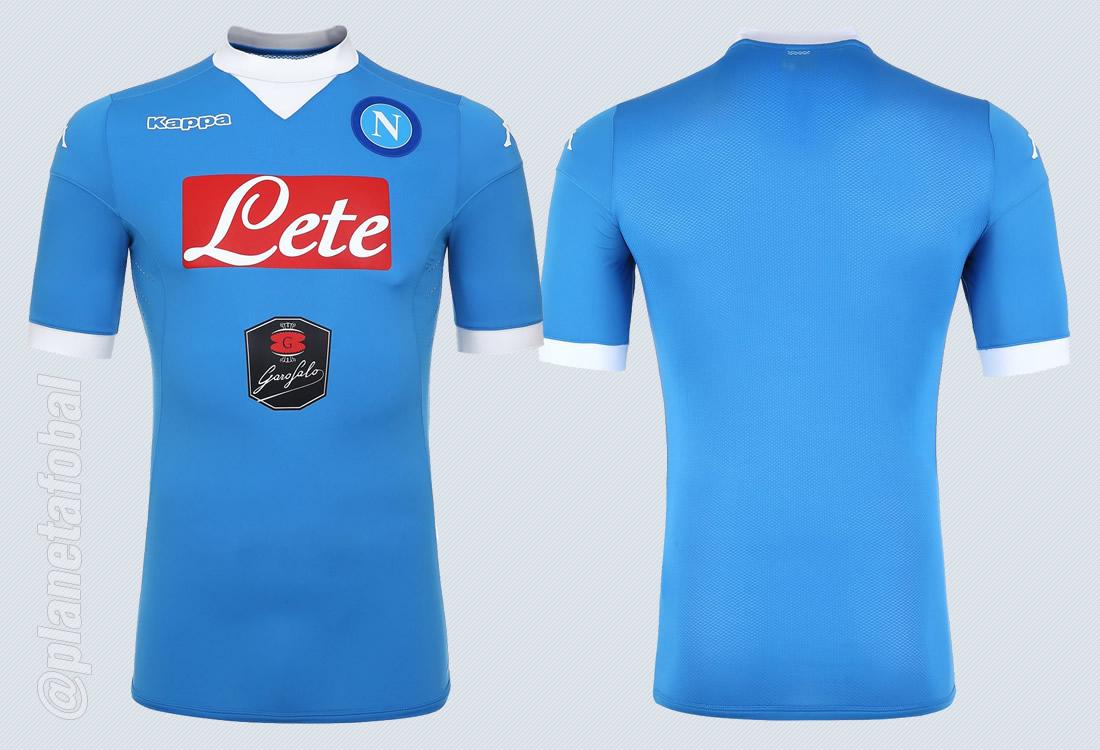 Camiseta titular Kappa del Napoli 2015/2016 | Imagenes Tienda Oficial