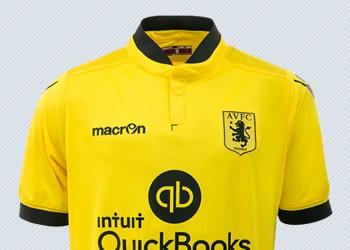Camiseta suplente de Aston Villa para 2015/2016 | Imagenes tienda oficial