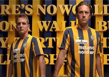 Camiseta titular del Hellas Verona para 2015/2016 | Foto web oficial