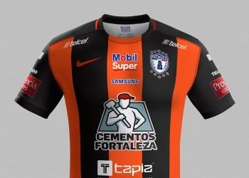 Nueva camiseta suplente Nike del Pachuca | Foto web oficial