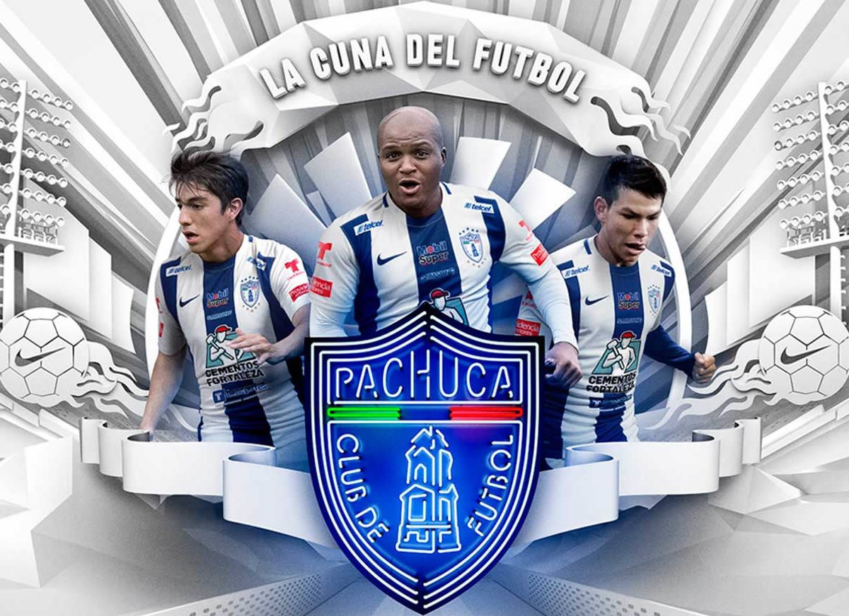 Nueva camiseta titular Nike del Pachuca | Foto web oficial