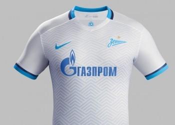 Nueva camiseta suplente del Zenit para 2015/2016 | Foto Nike
