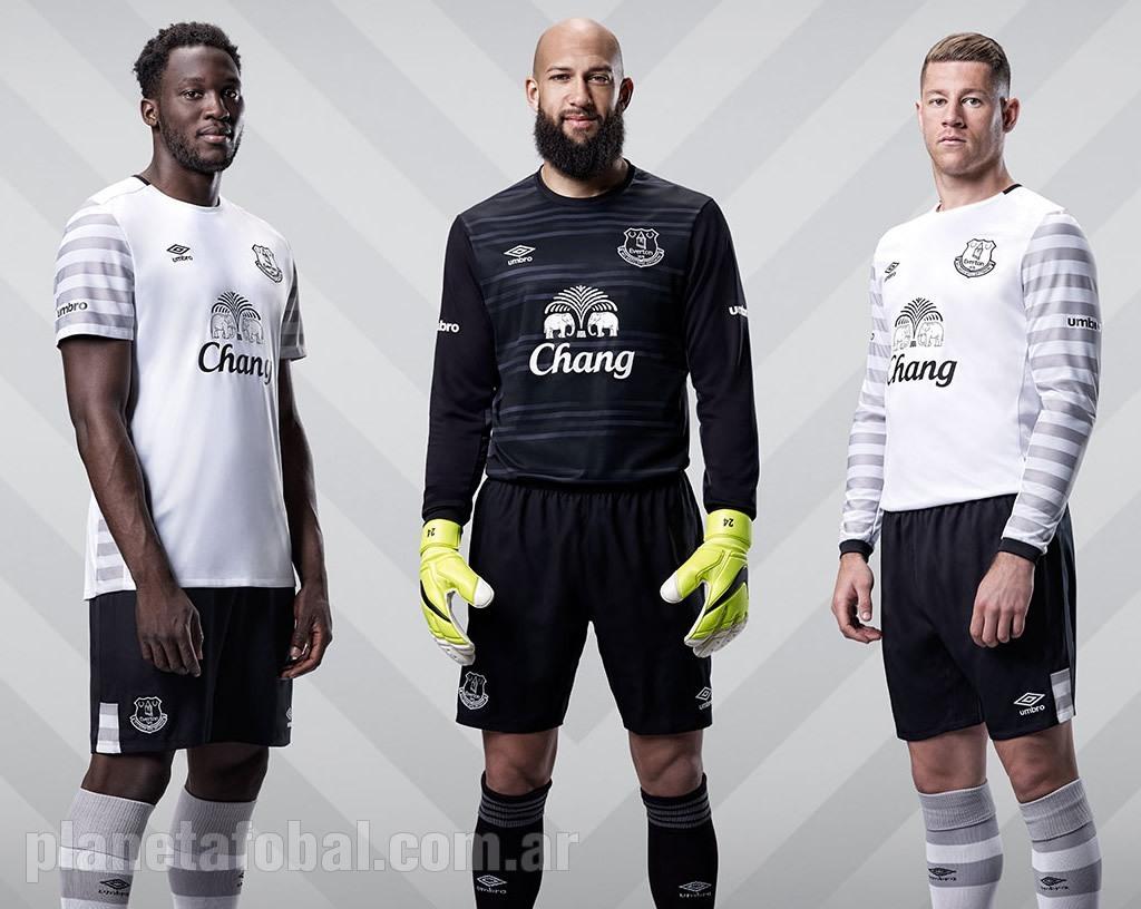 Everton presentó su nueva camiseta suplente Umbro | Foto web oficial