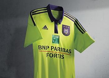 Nueva camiseta suplente del Anderlecht para 2015/2016 | Foto web oficial