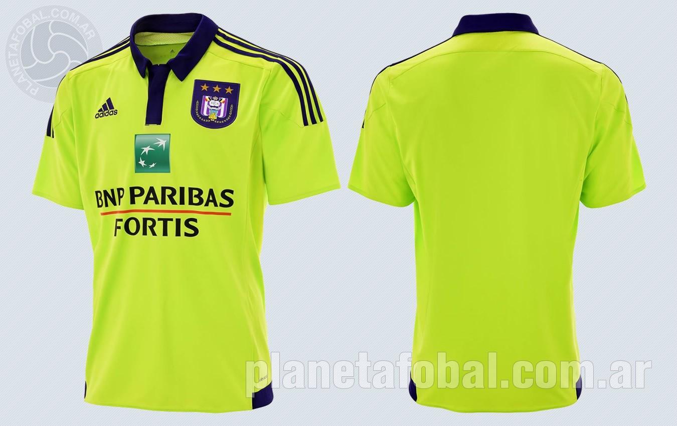 Nueva camiseta suplente del Anderlecht para 2015/2016 | Imagenes Facebook oficial