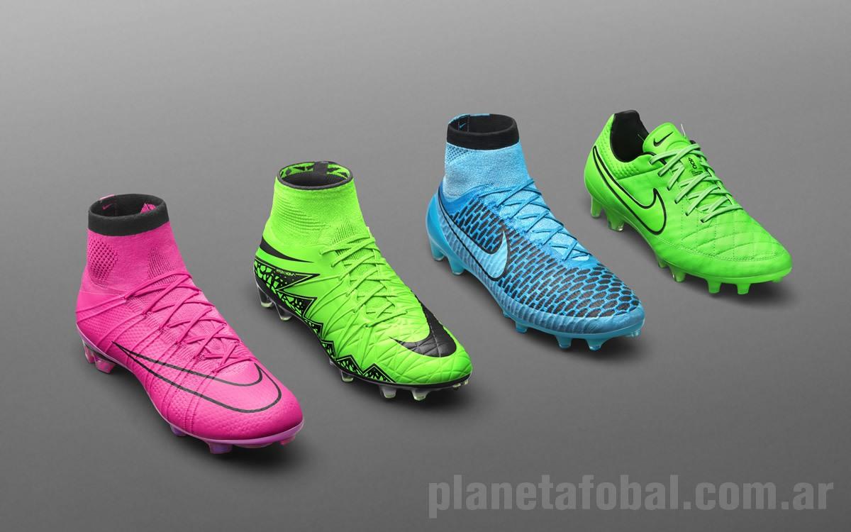 Colección de botines Lightning Storm 2015 | Foto Nike