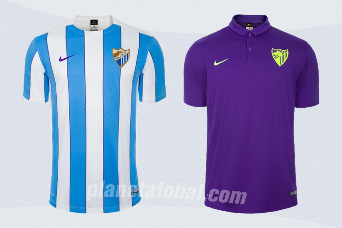 Nuevas camisetas Nike del Málaga para 2015/2016 | Imágenes Tienda Oficial