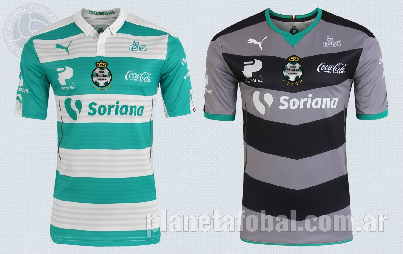Nuevas camisetas Puma del Santos Laguna para 2015/2016 | Imágenes Tienda oficial