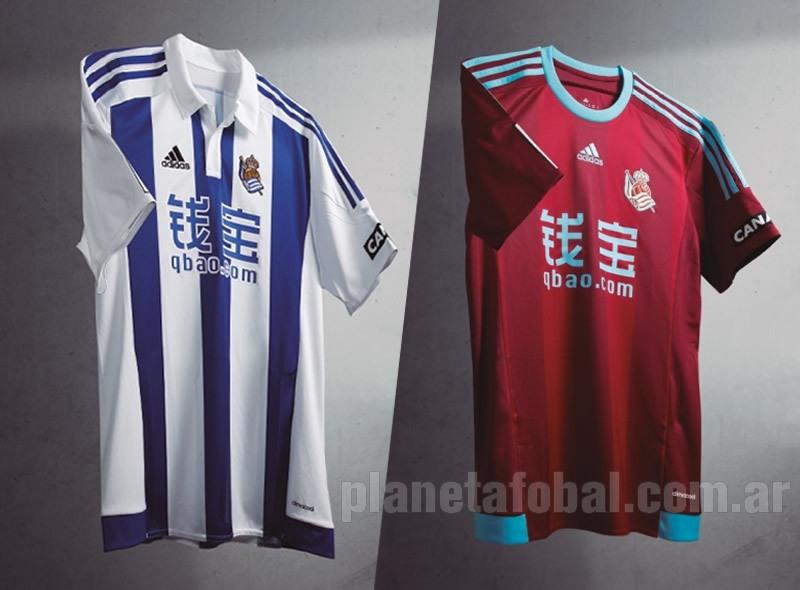 Nuevas camisetas de la Real Sociedad   Imágenes web oficial