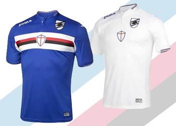 Camisetas Joma de la Sampdoria | Foto Joma