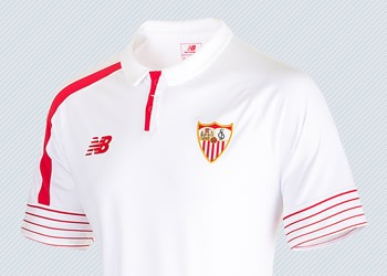 Camiseta titular | Imágenes Twitter Sevilla