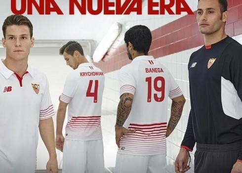 Camiseta titular | Foto Web Sevilla