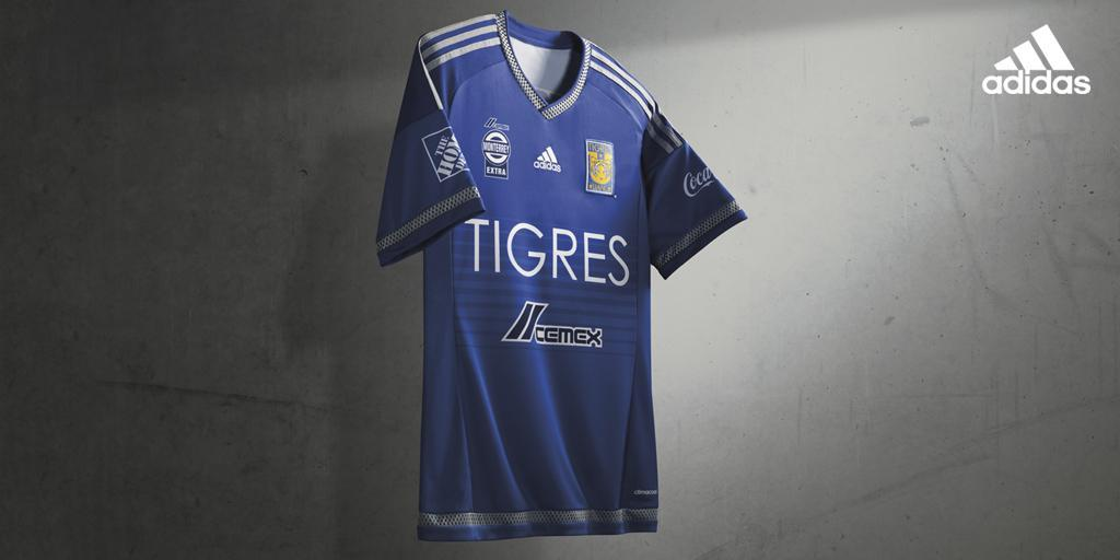 Casaca suplente de los Tigres | Foto Adidas