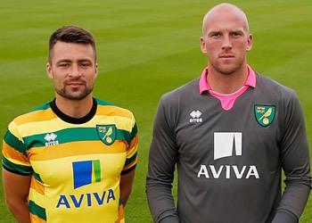 Tercera equipación Errea del Norwich City para 2015/2016 | Foto web oficial