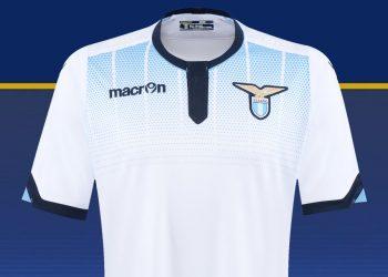 Tercera camiseta de Lazio para 2015/2016   Foto Macron